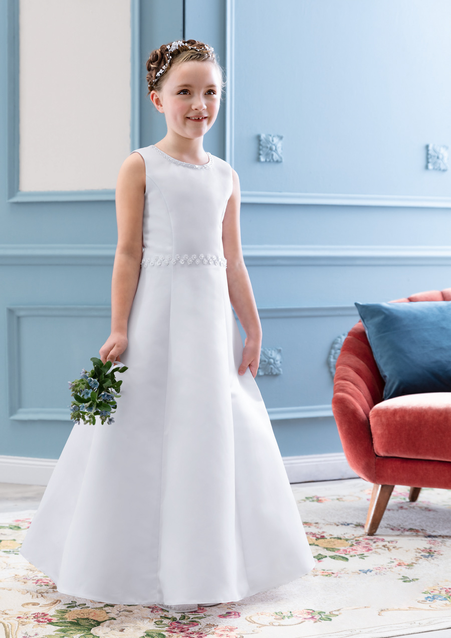 77714 DRESS Pure White