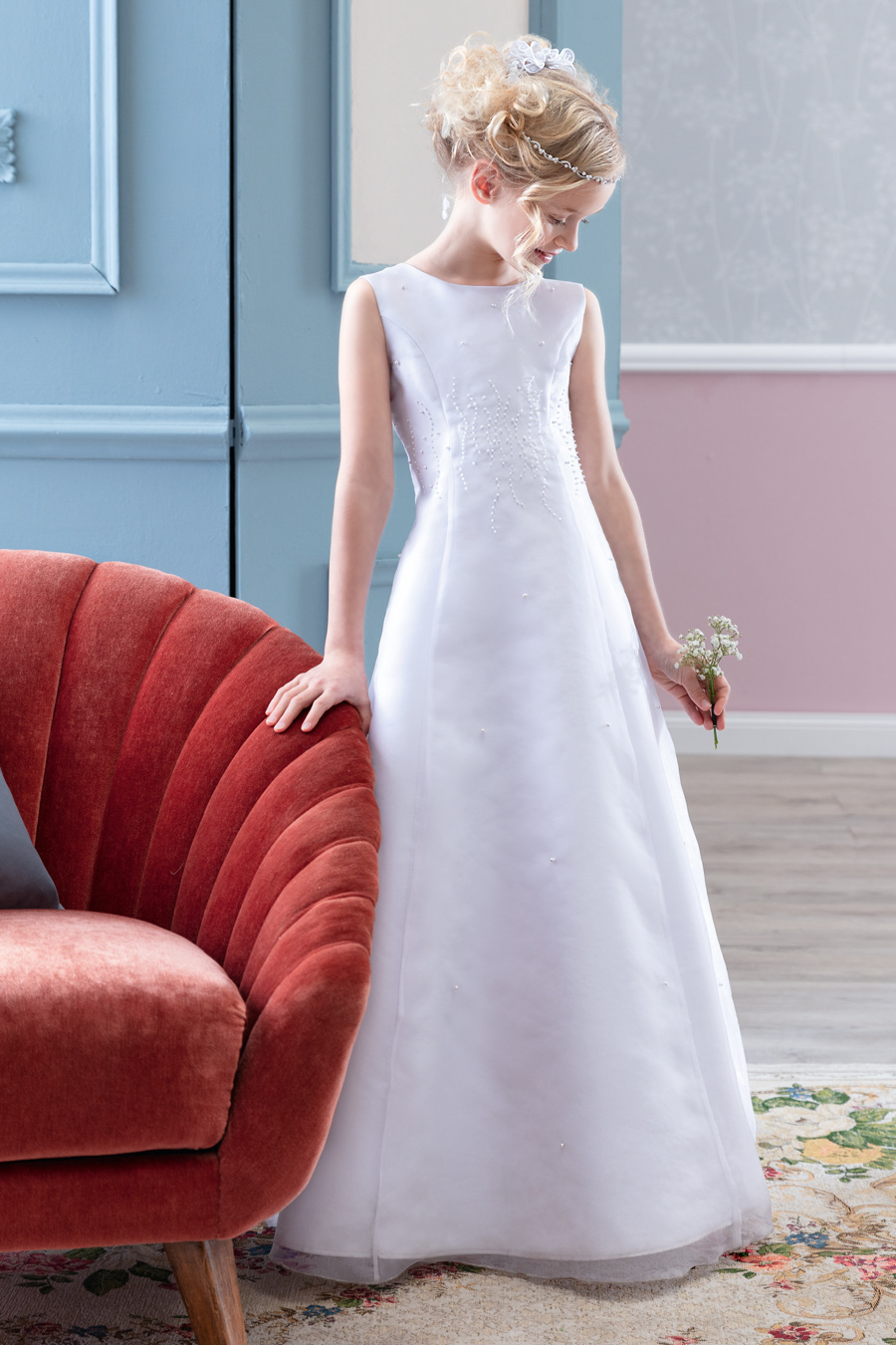PW 2026 DRESS Emmerling Pure White