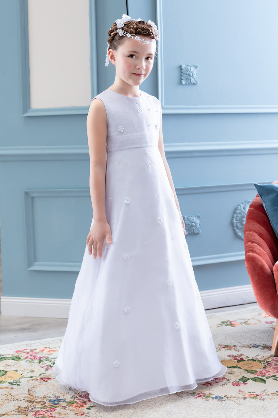 77719 DRESS Pure White