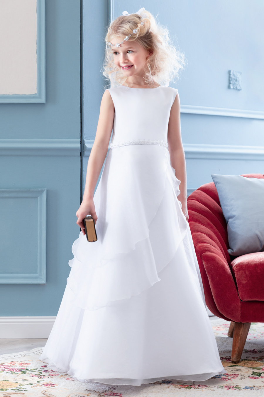 PW 2025 DRESS Pure White